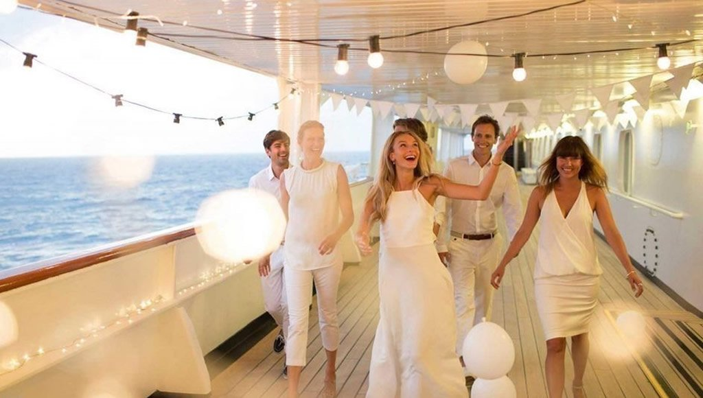 Cruise Weddings Require special arrangements but we can do it!